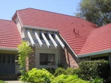Side View of a roof in Fremont CA